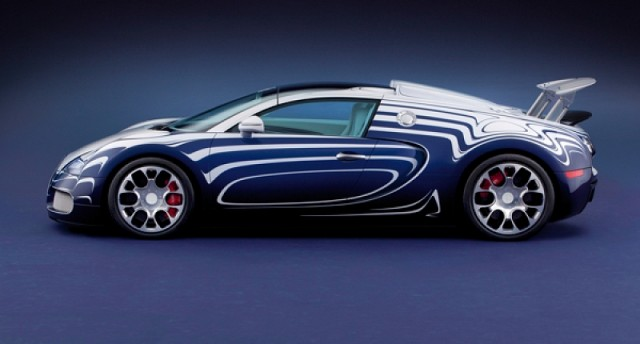 Veyron is made of porcelain. Image by Bugatti.