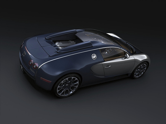 Bugatti builds another special. Image by Bugatti.