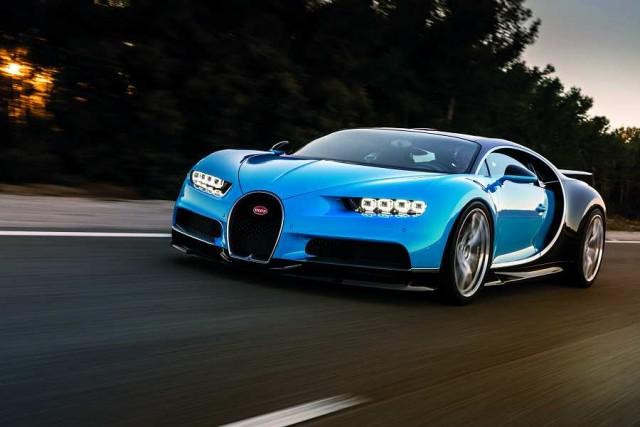 Bugatti blasts away opposition with Chiron. Image by Bugatti.