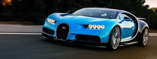 Bugatti blasts away opposition with Chiron. Image by Bugatti.