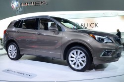 2016 Buick Envision. Image by Newspress.