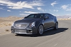 Cadillac gives its new CTS Coupé V signs. Image by Cadillac.
