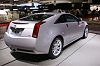 2010 Cadillac CTS Coupé. Image by headlineauto.
