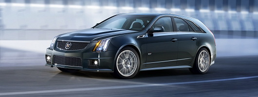 CTS Sport Wagon with extra V. Image by Cadillac.