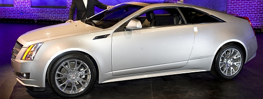 Caddy Coupé uncovered. Image by Cadillac.