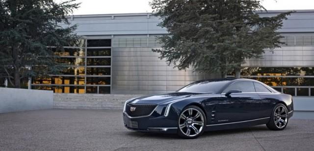 Cadillac Elmiraj concept at Pebble Beach. Image by Cadillac.