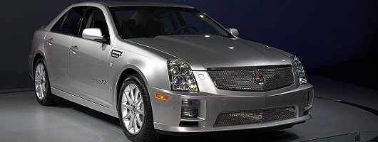 Cadillac CTS-V ready to launch. Image by Shane O' Donoghue.