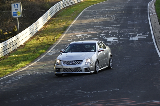 Caddy's 'Ring of fire. Image by Cadillac.