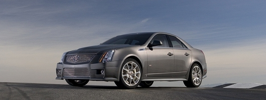 Performance claims for Cadillac CTS-V. Image by Cadillac.