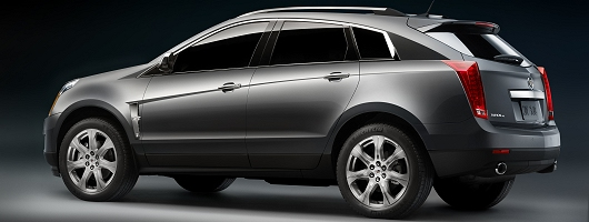 All-new Cadillac SRX ready for Detroit. Image by Cadillac.