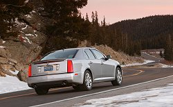 2005 Cadillac STS. Image by Cadillac.