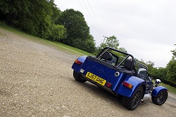2008 Caterham 7 Roadsport. Image by Kyle Fortune.