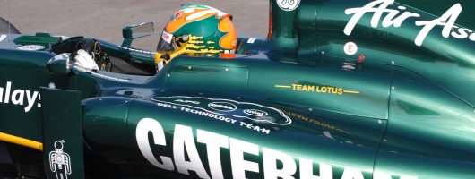 Caterham joins F1 fray. Image by Caterham.