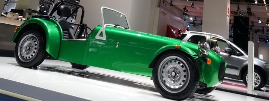 Suzuki-powered Caterham debuts. Image by Caterham.