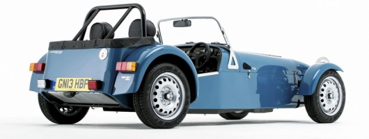 Caterham Seven 160 is go. Image by Caterham.