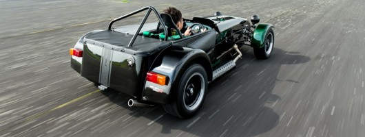 F1-themed single-seat Caterham. Image by Caterham.
