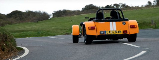 Caterham launches new Seven Supersport. Image by Caterham.