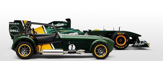 Lotus F1 buys Caterham. Image by Caterham.