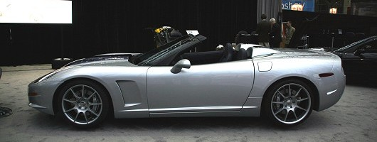 Callaway C16 Cabrio boosts Corvette. Image by Eric Gallina.