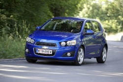 2012 Chevrolet Aveo. Image by Chevrolet.