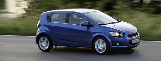 First Drive: Chevrolet Aveo diesel. Image by Chevrolet.