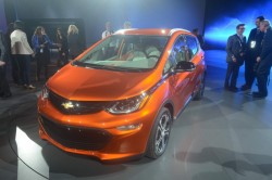 2016 Chevrolet Bolt. Image by Newspress.
