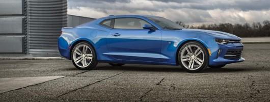 Chevrolet Camaro goes turbocharged. Image by Chevrolet.