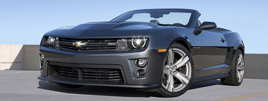 Camaro ZL1 - wind-blown hair guaranteed. Image by Chevrolet.