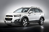 Chevrolet Captiva refreshed. Image by Chevrolet.