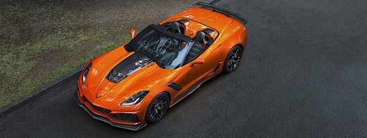Chevrolet reveals 212mph Corvette ZR1 Convertible. Image by Chevrolet.
