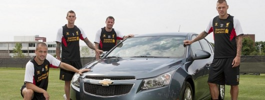 Chevy Kop Liverpool deal. Image by Chevrolet.