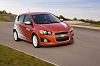 Chevy unveils sporty Aveo. Image by Chevrolet.