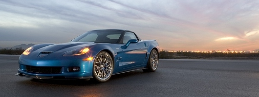 New Corvette ZR1 in action. Image by Chevrolet.