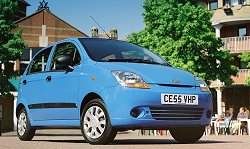 2005 Chevrolet Matiz review. Image by Chevrolet.