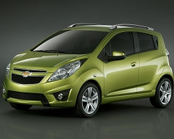 2009 Chevrolet Spark. Image by Chevrolet.