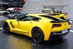 2014 Corvette at Geneva. Image by Newspress.