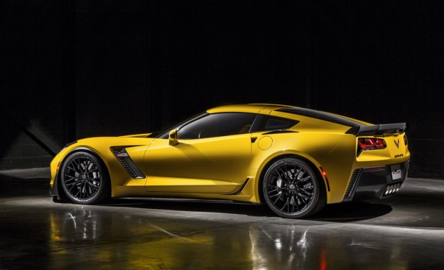 Z06 takes Corvette to new heights. Image by Chevrolet.