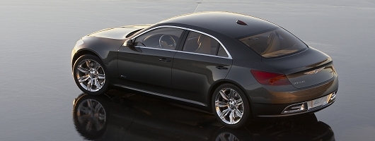 Chrysler's remote access saloon. Image by Chrysler.