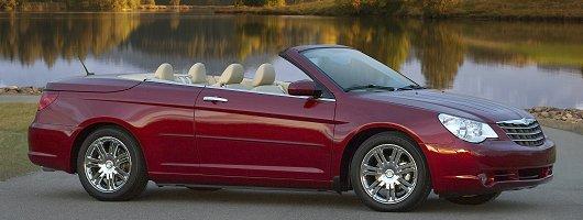 Chrysler folding hardtop coming to UK. Image by Chrysler.