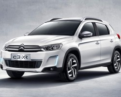 Citroen C3-XR ready for China. Image by Citroen.