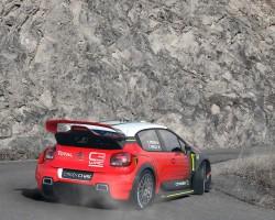 2016 Citroen C3 WRC concept. Image by Citroen.