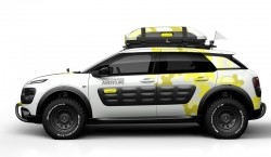 2014 Citroen C4 Cactus Adventure. Image by Citroen.