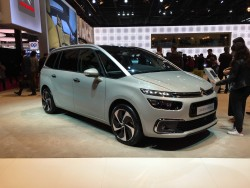 2017 Citroen C4 Grand Picasso. Image by Dave Humphreys.
