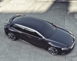Citroen reveals stunning Numero 9 concept. Image by Citroen.
