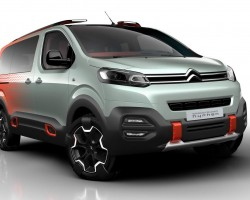 2016 Citroen SpaceTourer Hyphen concept. Image by Citroen.