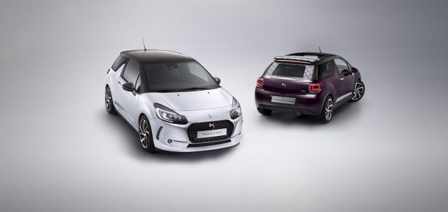 Citroen badging dropped for revised DS 3. Image by DS.