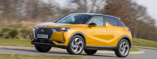 Driven: DS 3 Crossback. Image by DS Automobiles UK.