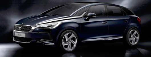 DS 5 is first non-Citroen Citroen. Image by DS.