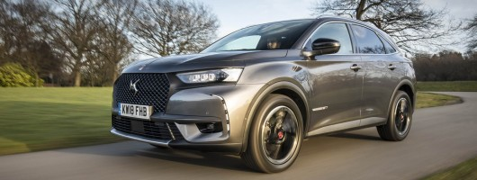 Driven: DS 7 Crossback. Image by DS Automobiles UK.
