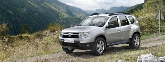 Time to pre-order your Dacia Duster - almost! Image by Dacia.